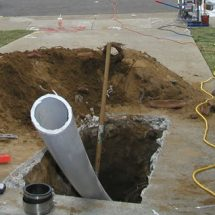 Trenchless Sewer Pipe Line Installation and Repair in Denver