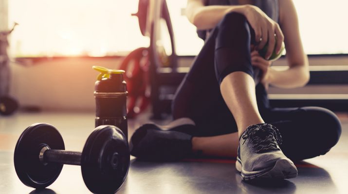 Woman exercise workout